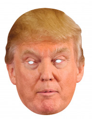Maschera cartone Donald Trump