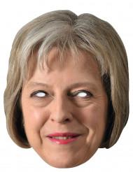 Maschera di cartone Theresa May