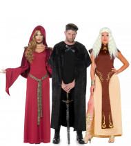 Costume gruppo medievale Adulti