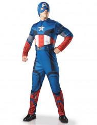 Costume deluxe Capitan America Avengers™ per adulto
