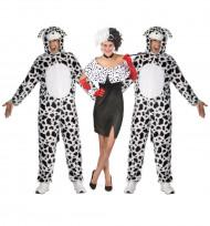 Costume gruppo Crudelia e i suoi dalmata