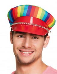 Caschetto multicolore adulto