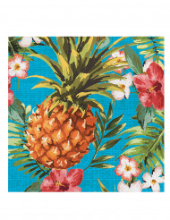 16 Tovaglioli di carta Tropics 33 x 33 cm