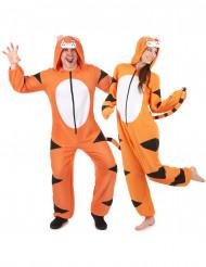 Costume di coppia da tigre - tuta
