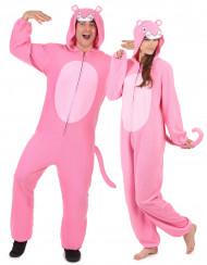 Costume di coppia da pantera rosa - tuta