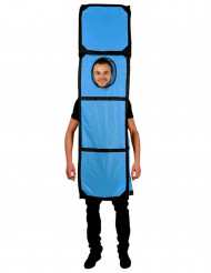 Costume Tetris™ blu Morphsuits™ per adulto