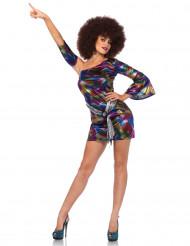 Costume olografico multicolore sexy Donna