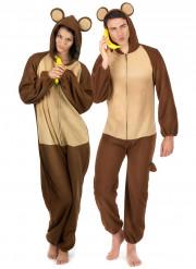 Costume di coppia scimmia