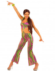 Costume anni '70 multicolore donna