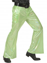 Pantaloni disco verdi per uomo