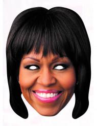 Maschera cartone Michelle Obama