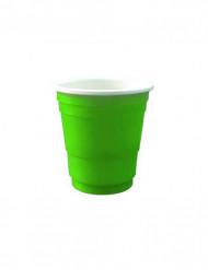 20 bicchierini da shooter 4cl verdi