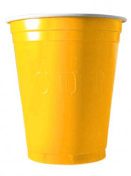 20 bicchieri 53cl gialli