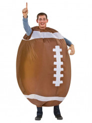 Costume da pallone da football americano per adulto
