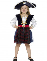 Costume da piratessa luminosa per bambina