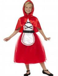 Costume da cappucetto rosso per bambina