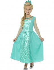 Costume da principessa glaciale per bambina