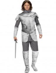 Costume da cavaliere con armatura per uomo