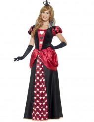 Costume lungo regina di cuori donna