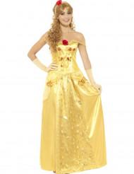 Costume da principessa dei sogni gialla per donna