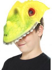 Maschera da coccodrillo per bambino
