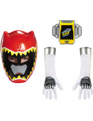 Kit Power Rangers™ Dino Charge rosso bambino