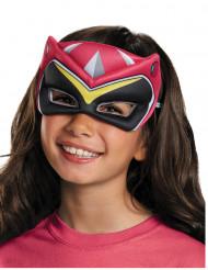 Mezza-maschera Power Rangers™ Dino Charge rosa bambina