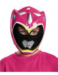 Maschera Power Rangers™ Dinocharge rosa bambin