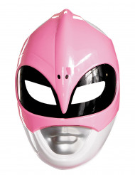 Maschera Power Rangers™ rosa adulto