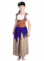 Costume da piratessa per bambina