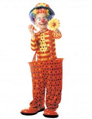 Costume da clown con cerchio per bambino
