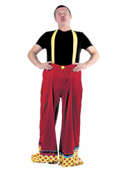 Pantaloni clown adulto
