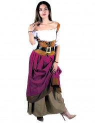 Costume locandiera medievale donna