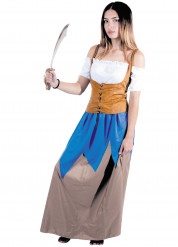 Costume da piratessa dei mari per donna