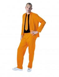 Completo da uomo fashion arancione