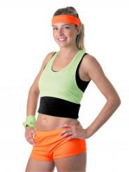 Pantalonicni arancioni fluo per donna