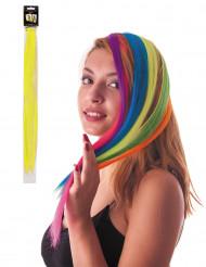 Ciocca gialla a clip per capelli