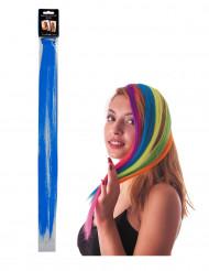 Ciocca blu a clip per capelli