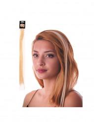 Ciocca bionda a clip per capelli