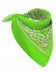 Bandana verde acido per adulto