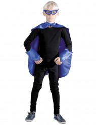 Kit da supereroe blu per bambino