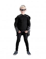 Kit da supereroe nero per bambino