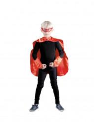 Kit da supereroe rosso per bambino