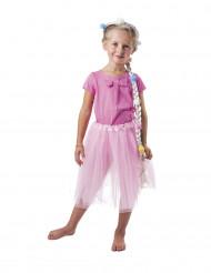 Corona da principessa con treccia per bambina