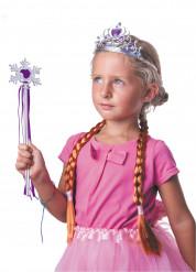 Kit accessori da regina delle nevi viola
