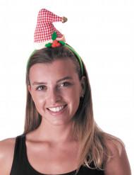 Cerchietto cappellino vintage di Natale