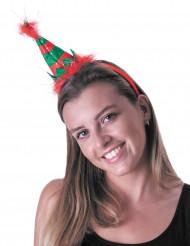 Cerchietto piccolo elfo adulto Natale
