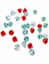 30 pietre preziose colorate