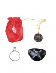 Mini kit di accessori da pirata
