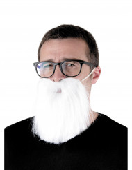 Barba Hipster bianca Adulto